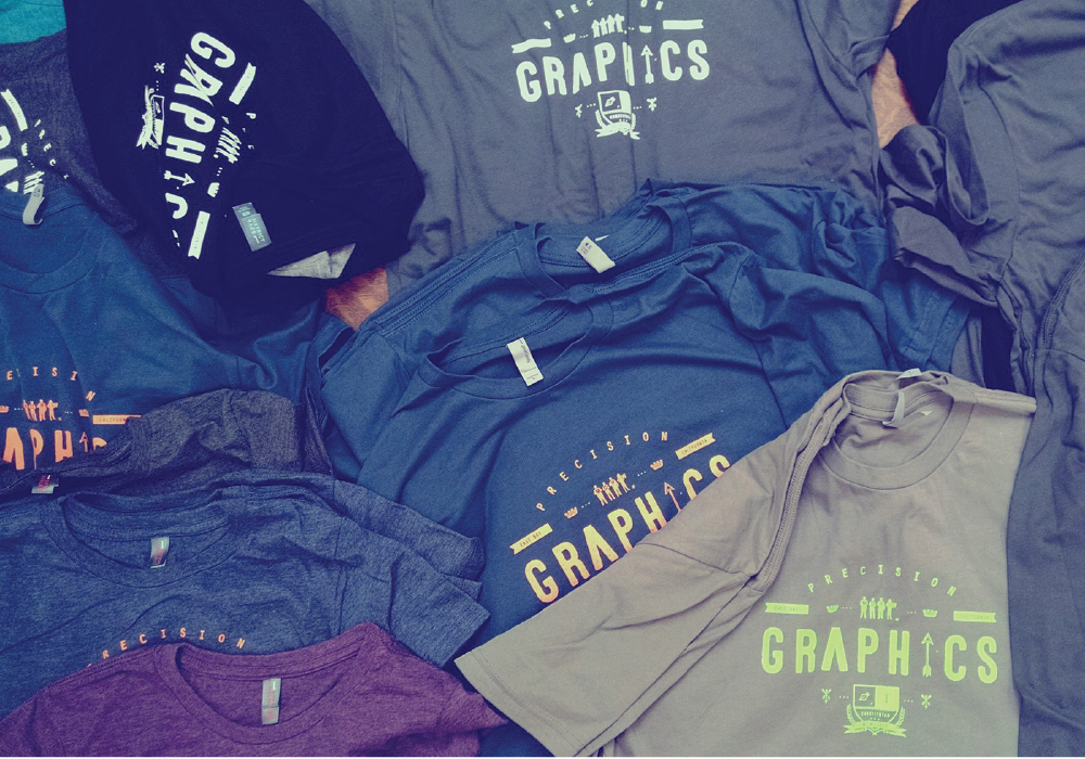 Precision Graphics tees