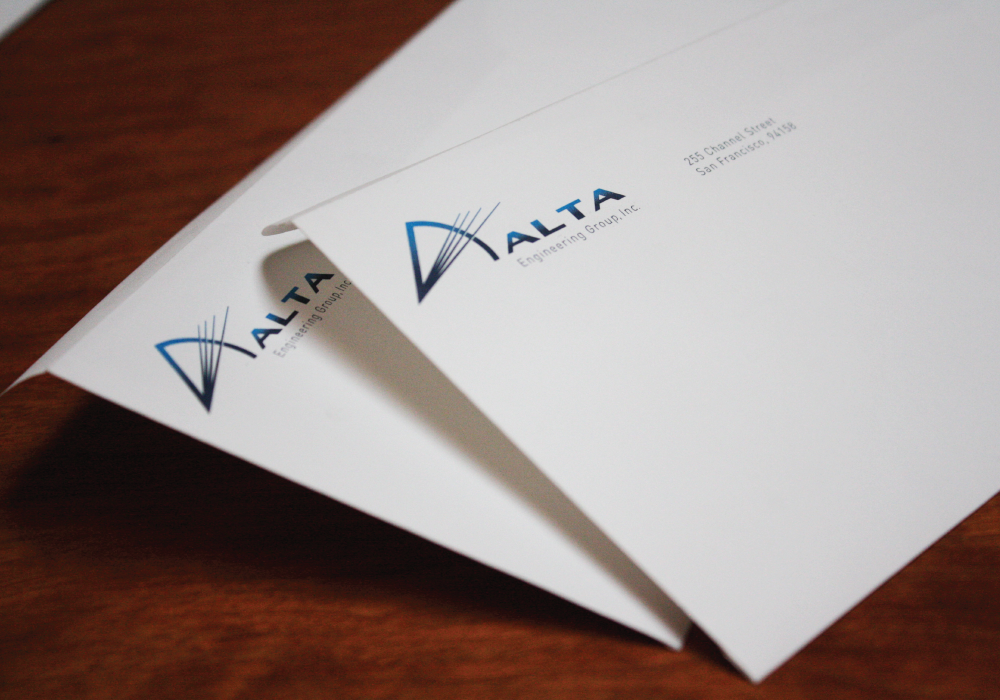 Alta Engineering envelopes